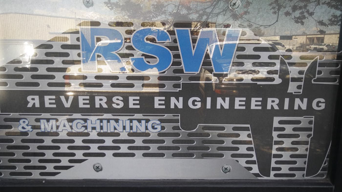 RSW Reverse Engineering And Machining