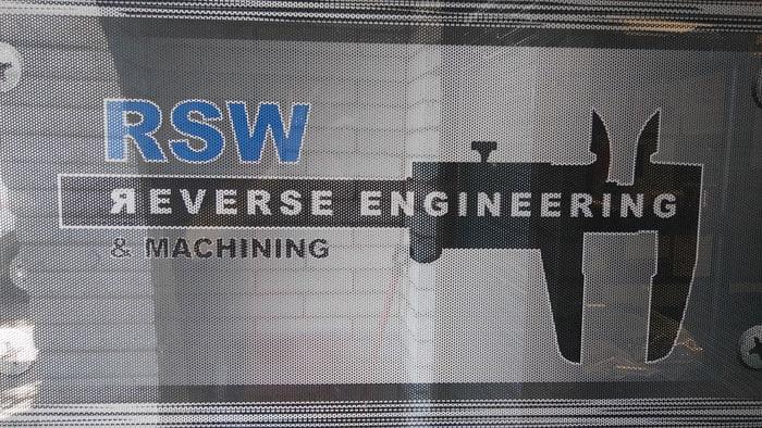 RSW Reverse Engineering And Machining image